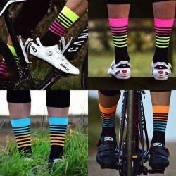 1 Pairs Men Nylon Breathable Wicking Crew Sock Outdoor Deodorant Athletic Socks