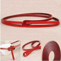 110CM Durable Womens Belt Fashion Design Vintage Cowhide Genuine leather Belts