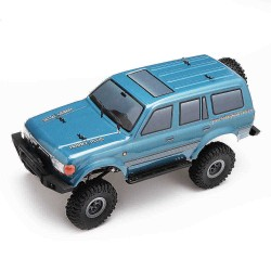 1/18 2.4G Mini Off-road Indoor Truck RC Car Waterproof ESC Motor 3Line Servo Vehicle Models Rock Crawler