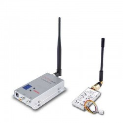 1.2G TX1000 1W 1000mW 8CH Transmitter RX02 12CH Receiver FPV Combo Up to 3km