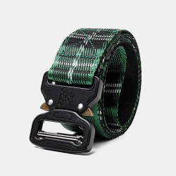 160cm Nylon Waist Leisure Belts Zinc Alloy Tactical Belt Quick Release Inserting Buckles