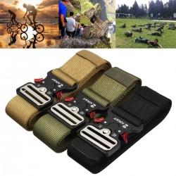 """1.89"""" Wide Tactical Nylon Belt Heavy Duty Army Military Training Trousers"""