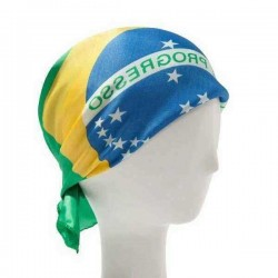 2014 World Cup Brazilian Flag For Crazy Fans Commemorative Scarf