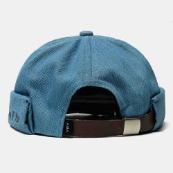 2019 New Avene Style Casual Street Retro Hip Hop Innocent Landlord Hat Vintage Stripe Brimless Hats
