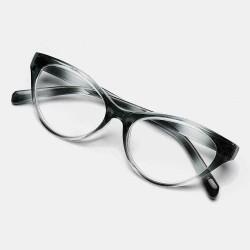 4-color Cat's Eye Gradient Reading Glasses TR90 Portable Durable Light Weight Reading Glasses