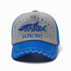 Boys Girls Outdoor Sport Cotton Letter Embroidered Earmuffs Baseball Cap Peaked Hat