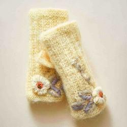 Casual Knit Glove Handwarmers