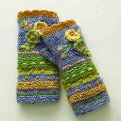 Casual Knit Gloves Handwarmers Women Glove