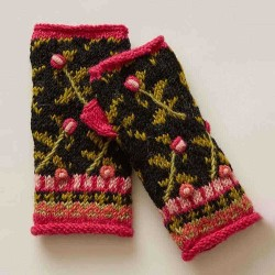 Casual Knit Short Glove Handwarmers