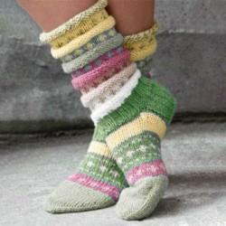 Casual Knit Tube Socks