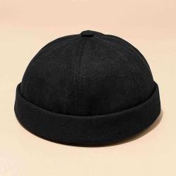 Casual Street Retro Hip Hop Innocent Landlord Hat Sailor Brimless Hats