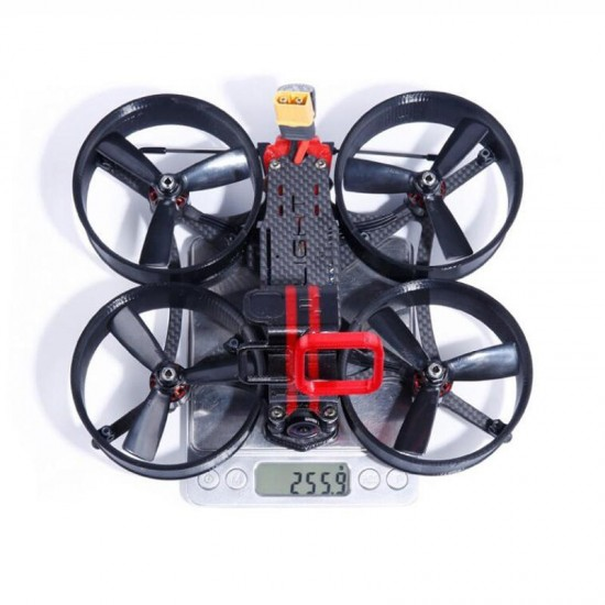 iFlight MegaBee V2.1 3 Inch FPV Racing Drone BNF F4 Flight Controller 2-4S 35A ESC 500mW VTX Support Carry for GoPro5/6/7 4K Filming Cam